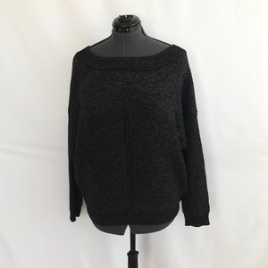 New York & Co Black Sparkle Sweater Top.NWT